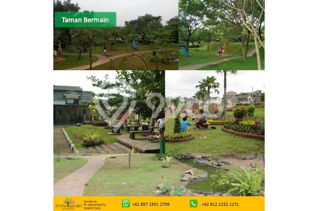 Rumah 2 lantai DP Ringan Free KPR Kristal Garden Cibinong dekat Stasiun 15146434