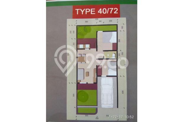 cukup 7jt dapat rumah di dekat stasiun cilebut gratis semua biaya 13096525