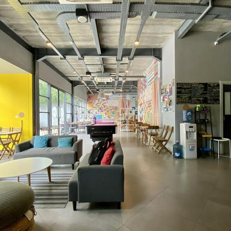 Dijual cepat gedung Hostel, Co Living lokasi Kemang Barat - Jaksel
