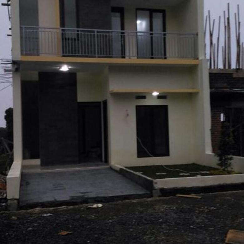 villa dekat tempat wisata di lembang, rumah konsep villa 2 lantai d lembang