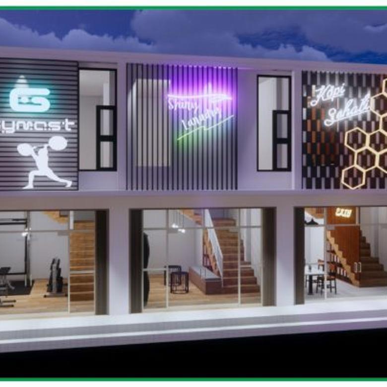 Ruko 2 Lantai di Kawasan Terintegrasi Jogja Eco Wisata