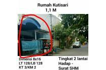 Dijual rumah Kutisari Surabaya murah SHM