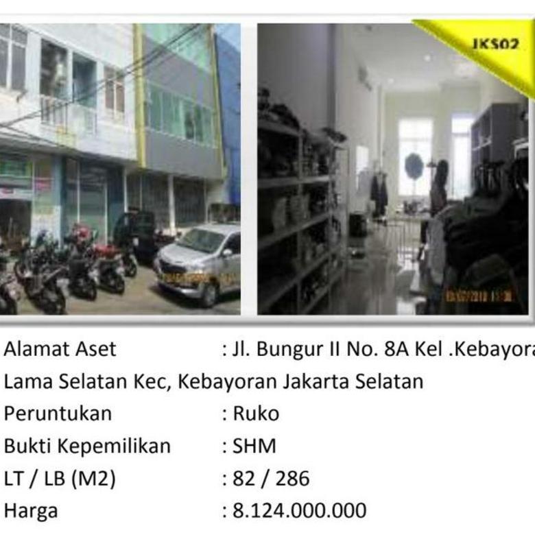 Aset Sitaan Ruko Kebayoran Lama Selatan Jakarta Selatan
