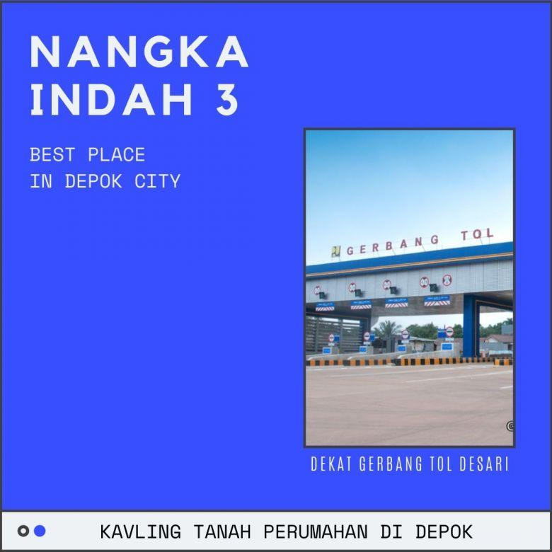 Akses Dekat Tol Desari Tanah 4 Jutaan/m2 di Depok