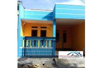 Rumah Biru di Villa Gading Harapan Bekasi