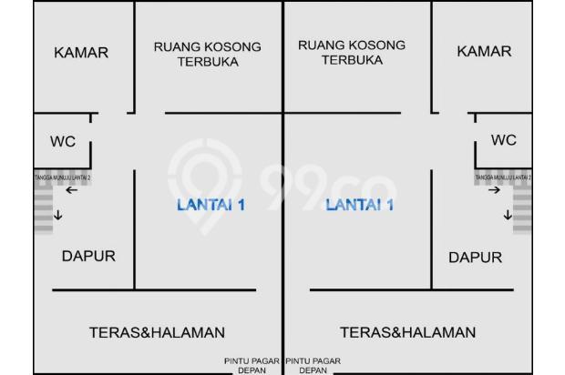 Rumah Baru 3KT Siap Huni, Arcamanik Bandung 15337949