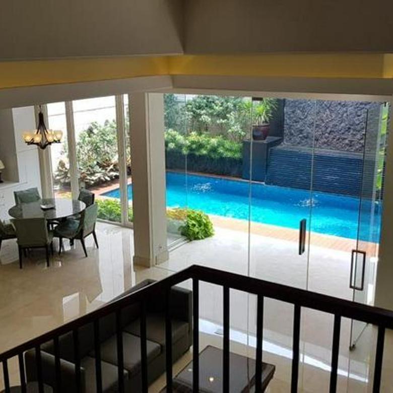 Rumah Baru Design Modern dengan Furniture di Pondok Indah