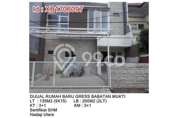 DIJUAL RUMAH BARU GRESS BABATAN MUKTI WIYUNG 13245595