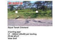 Dijual Tanah 2 Kavling Jejer Bukit Golf International Citraland