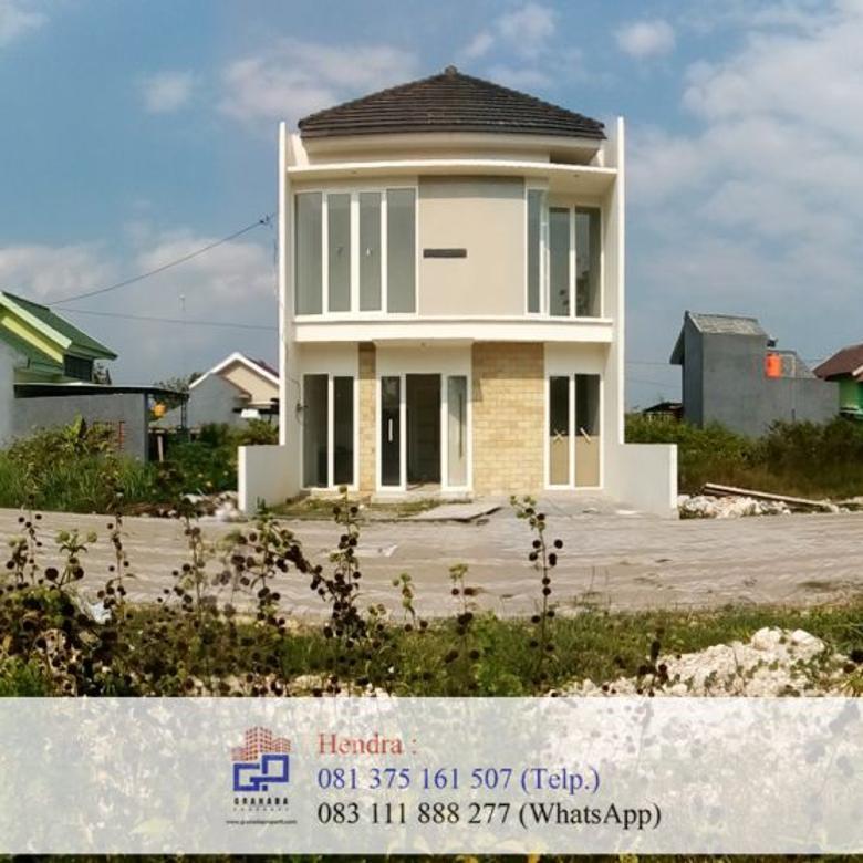 rumah dua lantai hanya 200 jutaan, stok terbatas