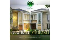 PROMO APRIL !!! Beli Rumah Bonus Furnished di Greenland Kediri