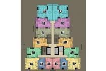 Unit Condominium Greenbay 2 kamar tower M