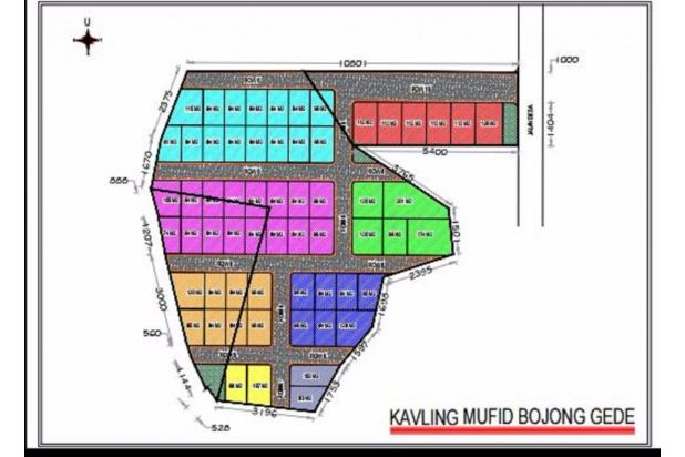 Jual Tanah Kaveling Bojong Gede Serifikat SHM, Luas Mulai 80 m2 13696558