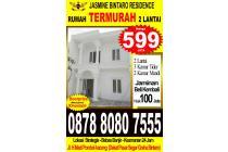 Cluster 2Lantai Jasmine bintaro Residence murah sekali di bintaro