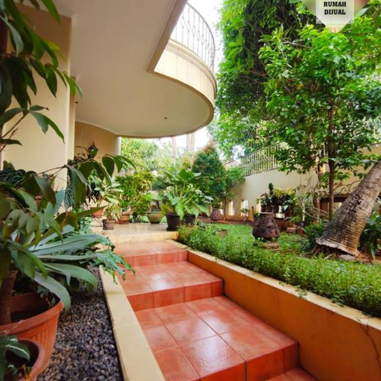 Rumah mewah private pool, Best area kemang