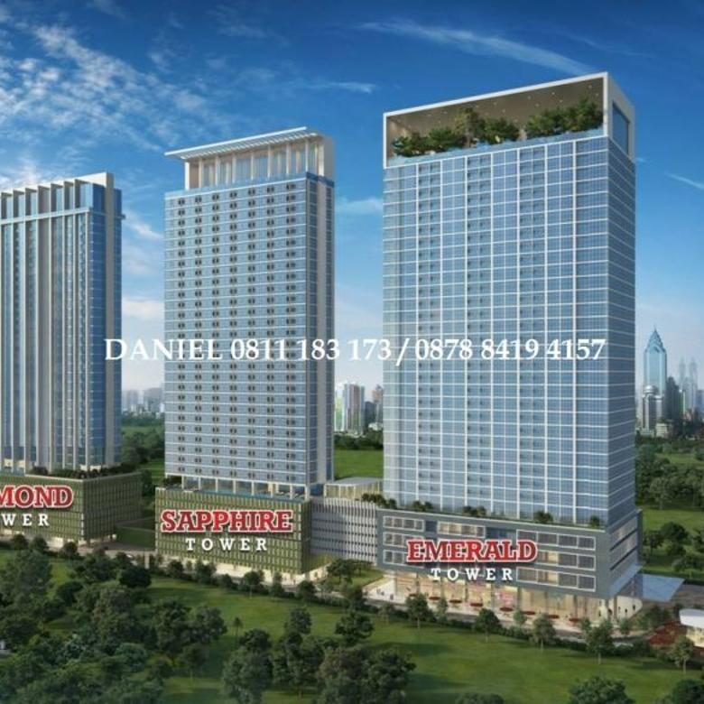 Apartemen Full Furnish, Menteng Park