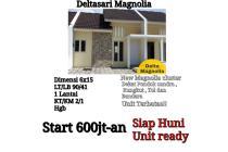 Rumah Baru Deltasari Magnolia Sidoarjo Minimalis Siap Huni