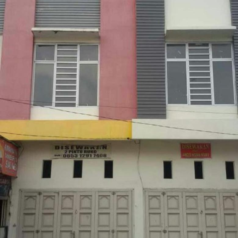 Disewa 2 Ruko Kompleks Padang Hijau di Medan Binjai Km 14,8