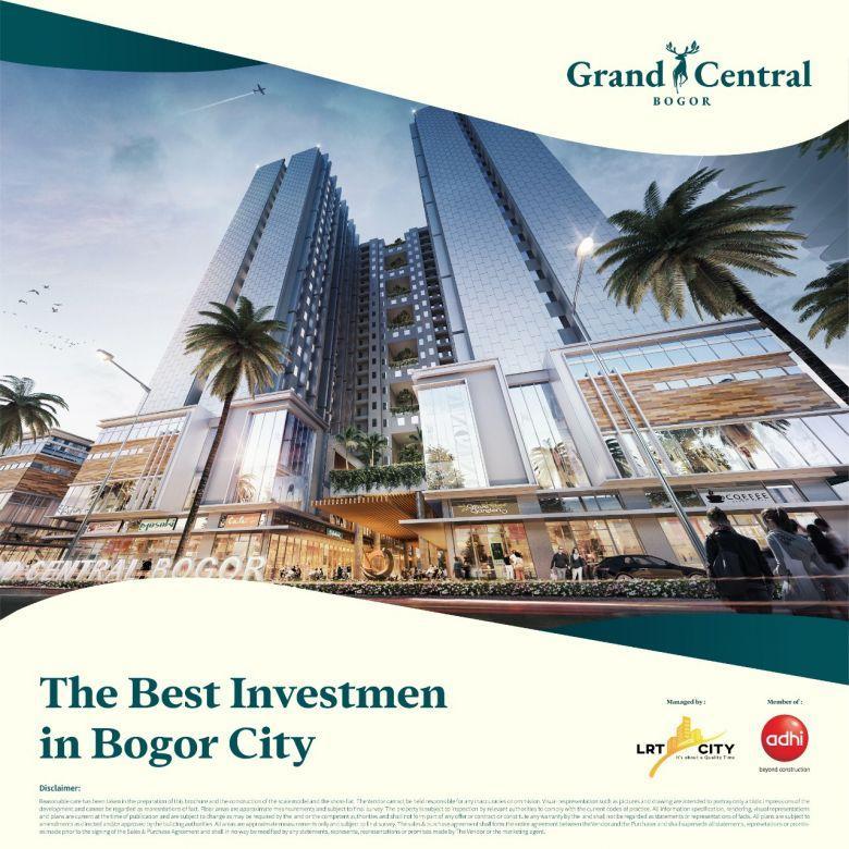 Apartemen Grand Central Bogor. Apartemen Dipusat Kota Bogor