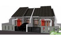 Dijual Rumah Baru Minimalis di Pasir Melati dekat Cicaheum, Type 45/98 350j