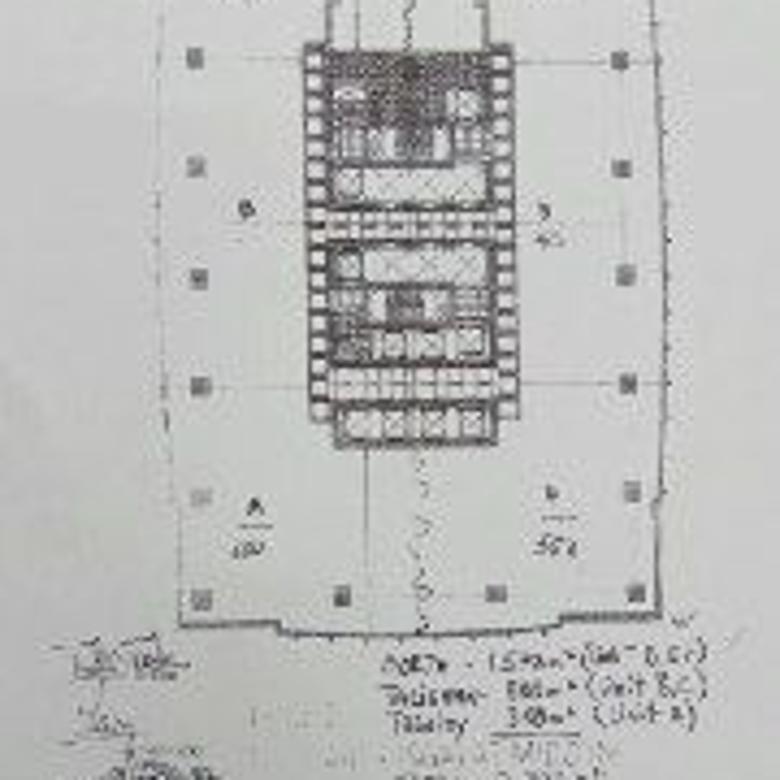 Disewakan Office Space District 8 (Unit D, E & F)