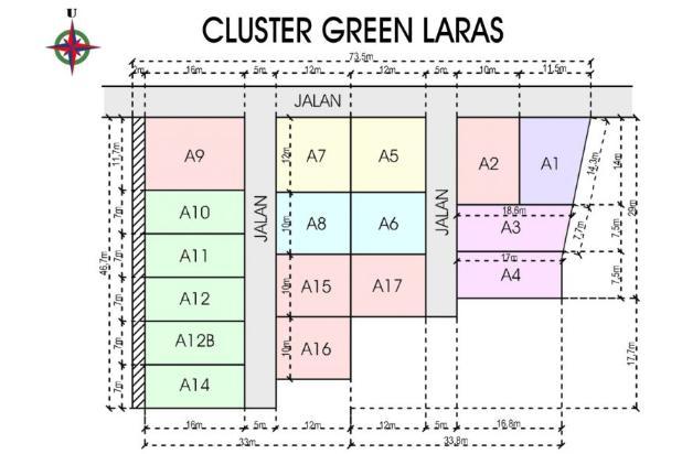 Cluster Pendowoharjo, Bantul, Tanah kaplingan, 12 X Cicilan 16225094