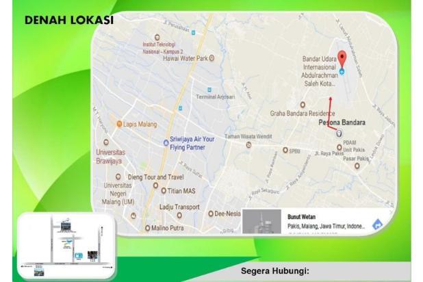 tanah murah dekat bandara dan tempat wisata 13870848