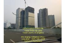 Kantor di PIK - OFFICE Tower Gold Coast PIK - 117m2 - 20 jutaan, termurahh