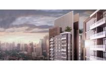 LaVie Suites at Kuningan 2BR Tower PORTE, Lantai Marmer & Semi Furnish