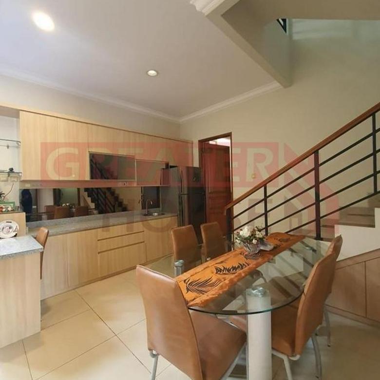 Rumah Full Furnished, Siap Huni LT/LB: 163/190 @ Pejaten - Pasar Minggu, Jakarta Selatan