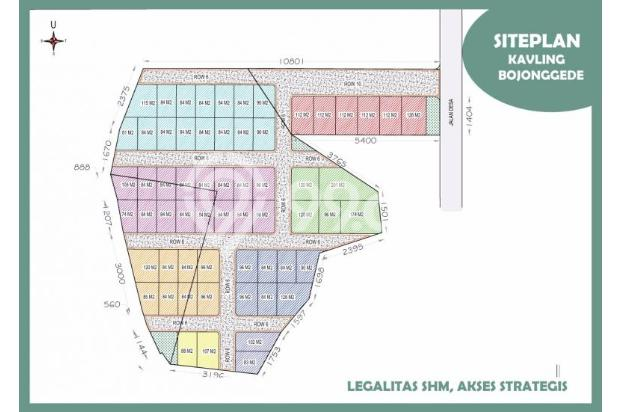 Beli KAVELING Bojonggede 96 M2: Konstruksi Kami Bantu Lebih Murah 40% 13426177