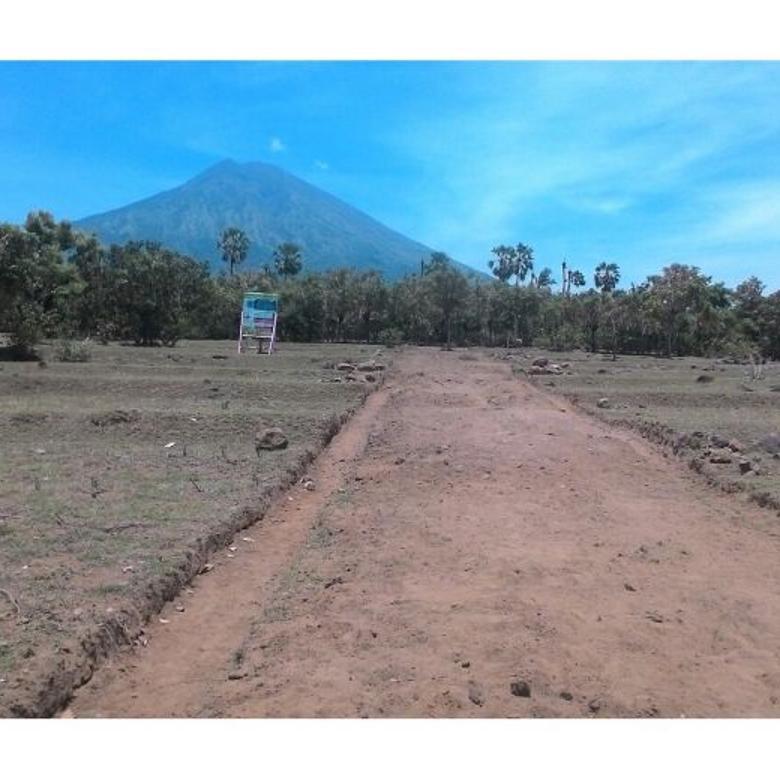 Tanah Special Double View (Gunung Agung dan Laut Tulamben)