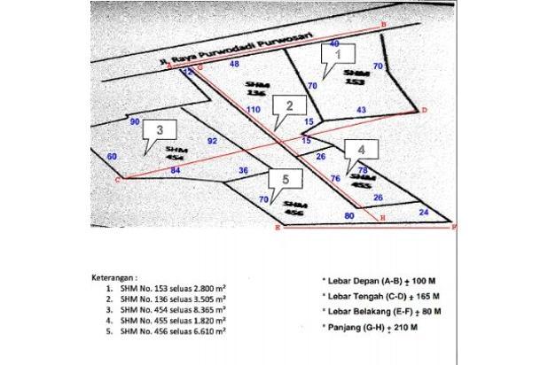 Rp31,7mily Tanah Dijual