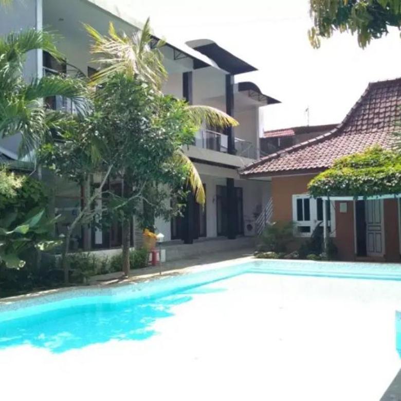 Rumah 16 KT di Prawirotaman Dekat Alun Alun, Ada Kolam Renang