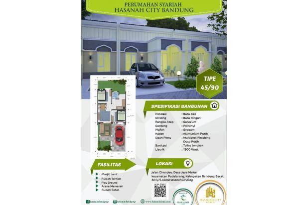 Booking segera perumahan Hasanah City Bandung 14317300