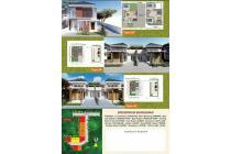rumah di dalam cluster Jati Residence Purbalingga