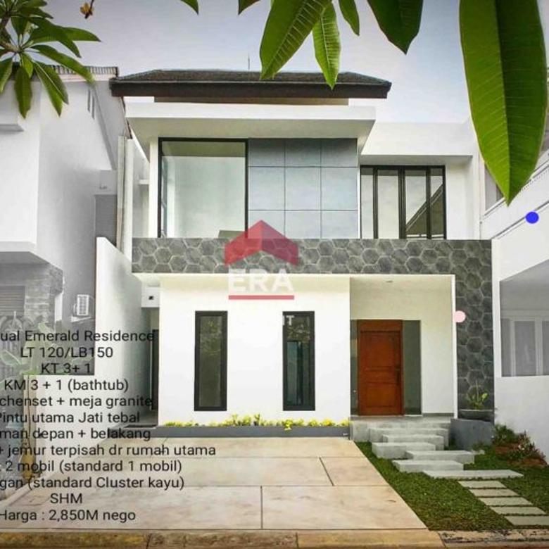 Rumah bagus brand new murah di Emerald Bintaro