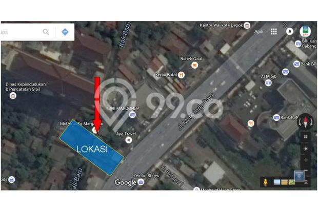 Tanah di Jalan Margonda Raya, Depok - Dekat Kantor Walikota 5356037