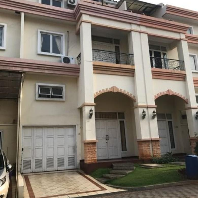 Dijual rumah Townhouse Mutiara Mediterania Pluit LT 128m2 ELEGANT