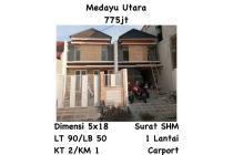 Rumah Medayu Utara Rungkut Surabaya Siap Huni Baru