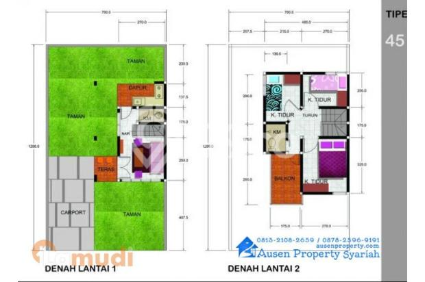 Rumah Syariah  Tanpa Bank, Tanpa Riba, Tanpa Denda & Sita 14373749