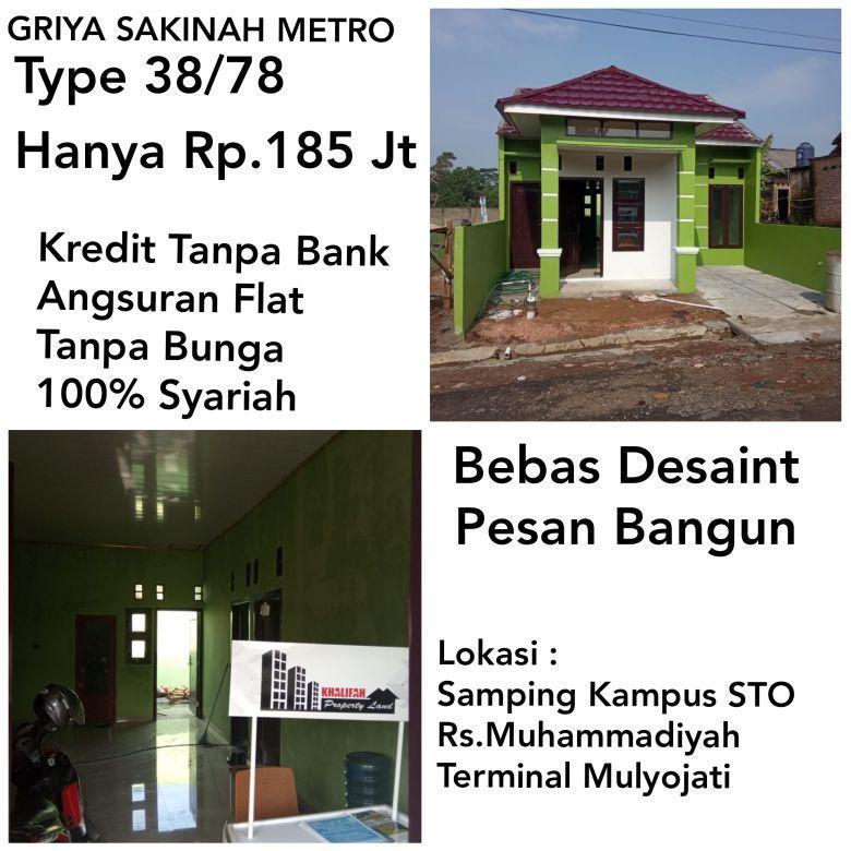 Rumah Type Modern Kredit syarih tanpa bank