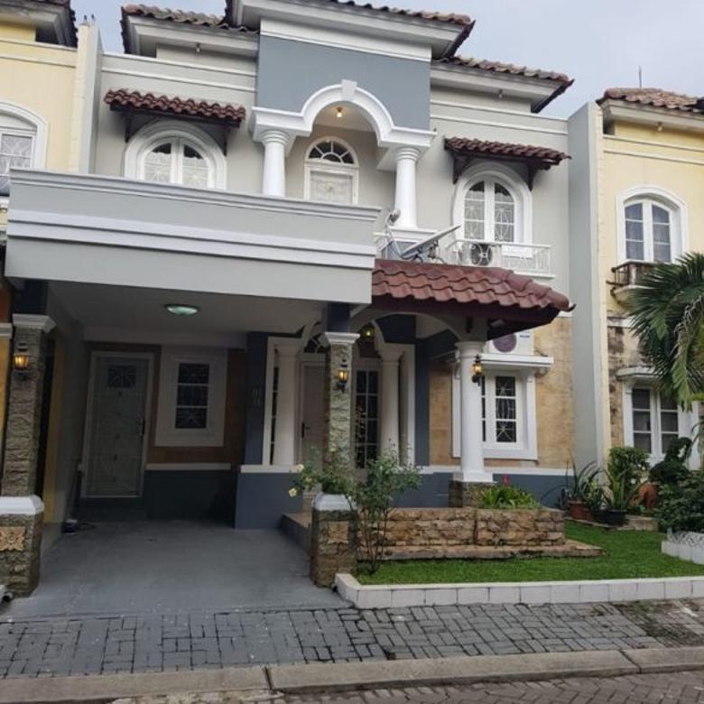 Rumah Disewakan-RENOVASI SEPERTI BARU-Raffles Hills Cibubur
