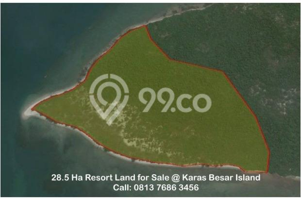 Resort Land with Beautiful Beaches at Karas Besar Batam for Sale 12912803