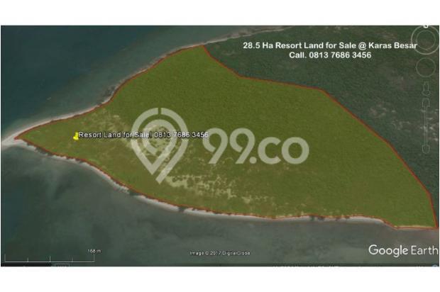 Resort Land with Beautiful Beaches at Karas Besar Batam for Sale 12912806