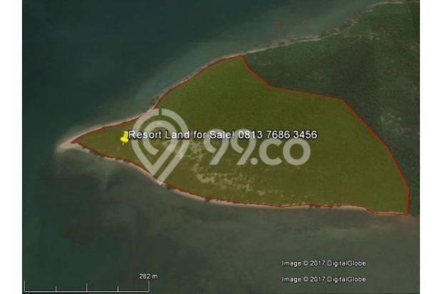 Resort Land with Beautiful Beaches at Karas Besar Batam for Sale 12912807