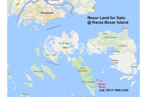 Resort Land with Beautiful Beaches at Karas Besar Batam for Sale 12912820