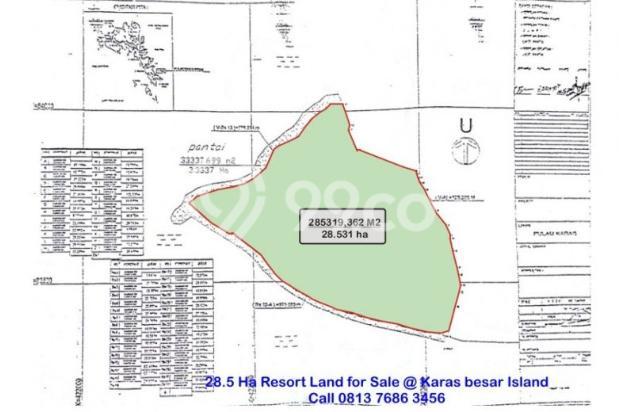Resort Land with Beautiful Beaches at Karas Besar Batam for Sale 12912821