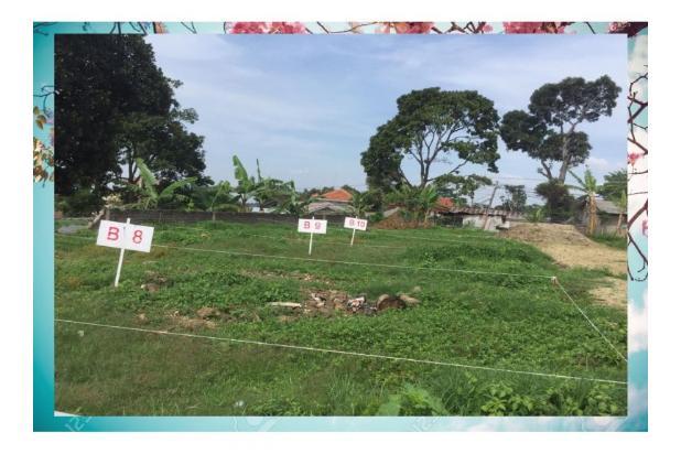 Rp369jt Tanah Dijual
