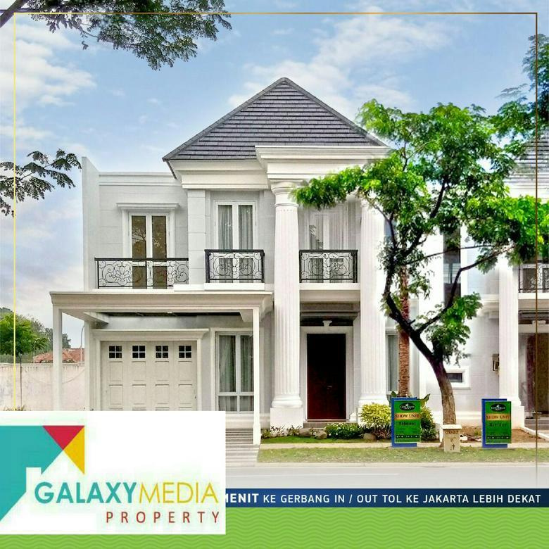 Rumah cluster terbaru dekat tol cibubur